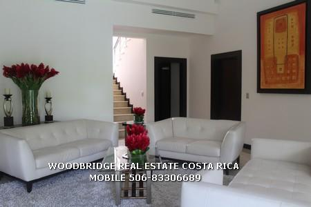 COSTA RICA HOME FOR SALE SANTA ANA/LIVING ROOM WITH HIGH CEILINGS